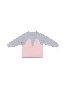 R/H - Magic Sweater -collegepaita - LIGHT GREY / BABY PINK | Stockmann