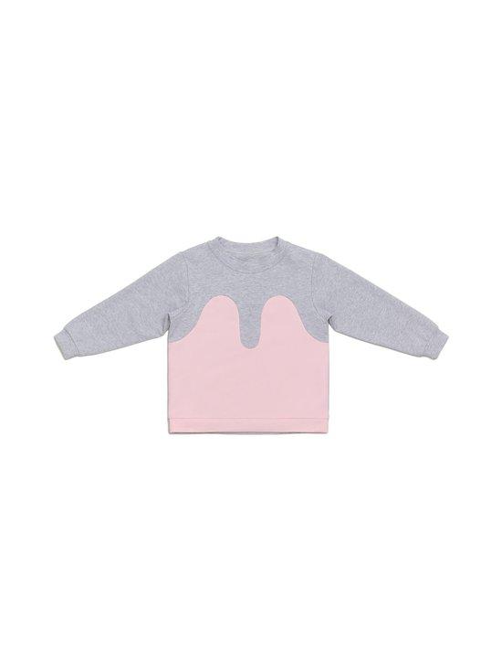R/H - Magic Sweater -collegepaita - LIGHT GREY / BABY PINK | Stockmann - photo 1