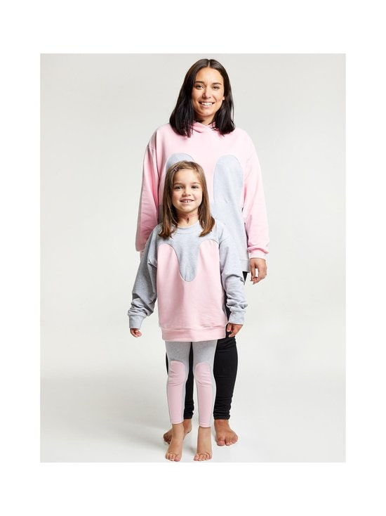 R/H - Magic Sweater -collegepaita - LIGHT GREY / BABY PINK | Stockmann - photo 2