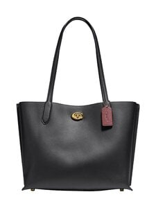 Coach - Willow Tote -nahkalaukku - B4/BK B4/BLACK | Stockmann
