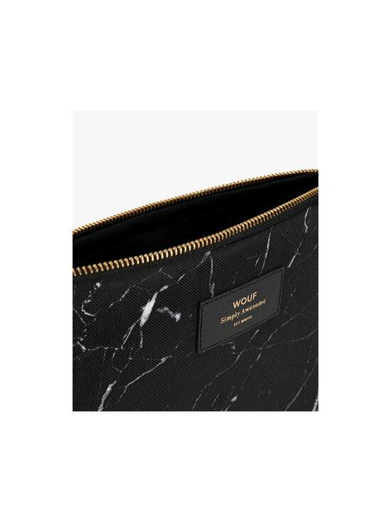 WOUF - Black Marble iPad Sleeve -suojatasku tabletille - BLACK   Stockmann - photo 3
