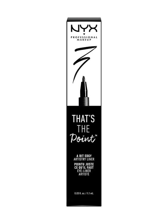 NYX Professional Makeup - That´s the Point A Bit Edgy -silmänrajaustussi - MUSTA | Stockmann - photo 2