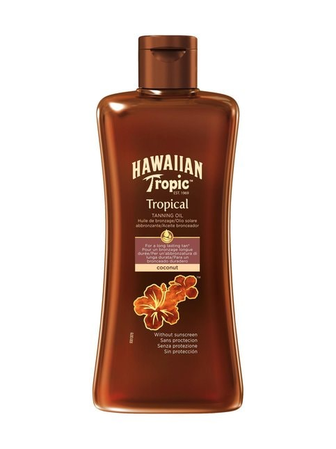 Hawaiian Tropical Tanning Oil Dark -öljy 200 ml