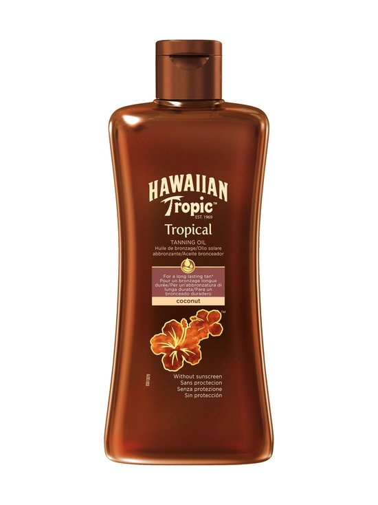 Hawaiian Tropic - Hawaiian Tropical Tanning Oil Dark -öljy 200 ml - NOCOL | Stockmann - photo 1