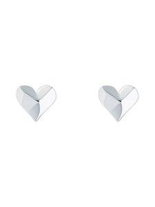 Ted Baker London - Felisi Faceted Heart Stud Earring -korvakorut - SILVER   Stockmann