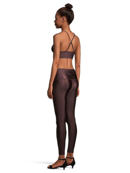 Filippa K - Cropped Gloss -leggingsit - 7935 MAROON   Stockmann - photo 3
