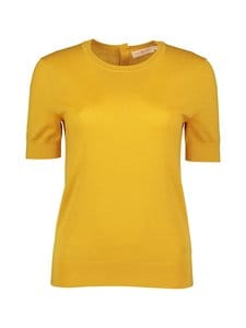Tory Burch - Short-Sleeve Iberia -kashmirneule - 711 YELLOW GOLD | Stockmann