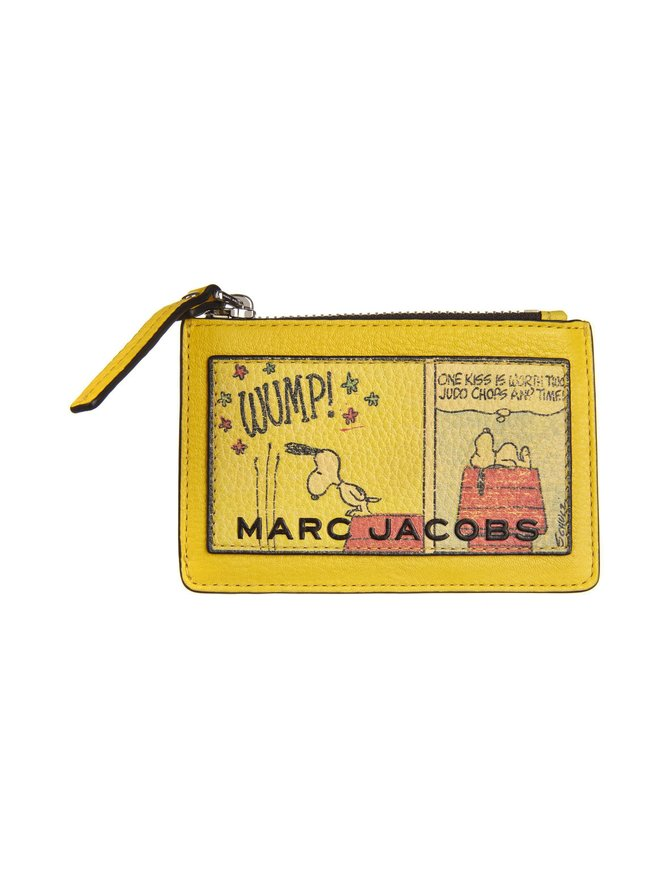 Peanuts x Marc Jacobs Top Zip Multi -nahkalompakko