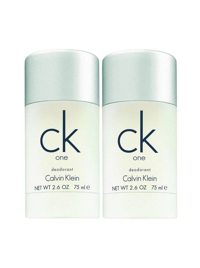 ck One Deo Stick  -deodorantti, tuplapakkaus 2 x 75 ml