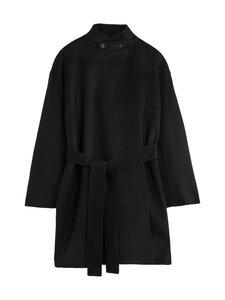 Filippa K - Edina Jacket -villakangastakki - 1433 BLACK | Stockmann