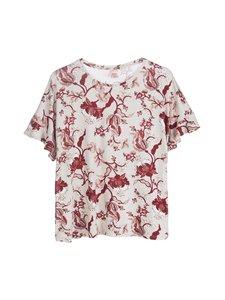NOOM loungewear - Sanni-pyjamapaita - OATMEAL/ROSE PRINT | Stockmann