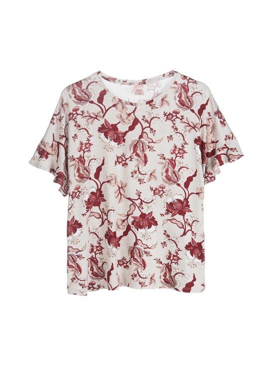 NOOM loungewear - Sanni-pyjamapaita - OATMEAL/ROSE PRINT | Stockmann - photo 1