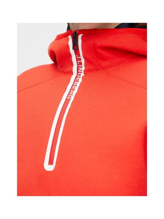 J.Lindeberg - Stripe Hood -huppari - 4300 RACING RED | Stockmann - photo 5