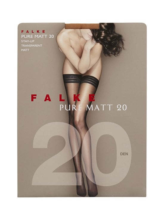 Falke - Pure Matt -stay-up-sukat 20 den - POWDER (RUSKEA) | Stockmann - photo 1