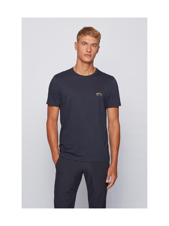 BOSS - Tee Curved -paita - 403 DARK BLUE | Stockmann - photo 2