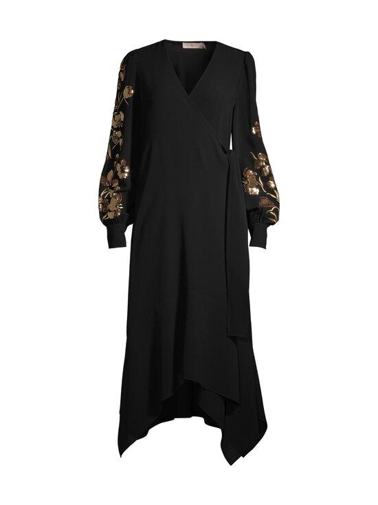 Tory Burch - Embroidered Wrap Dress -mekko - 001 BLACK | Stockmann - photo 1