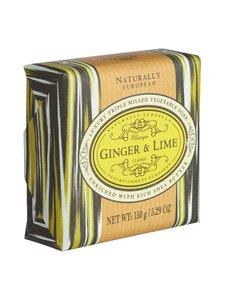 Naturally European - Ginger & Lime -palasaippua 150 g | Stockmann