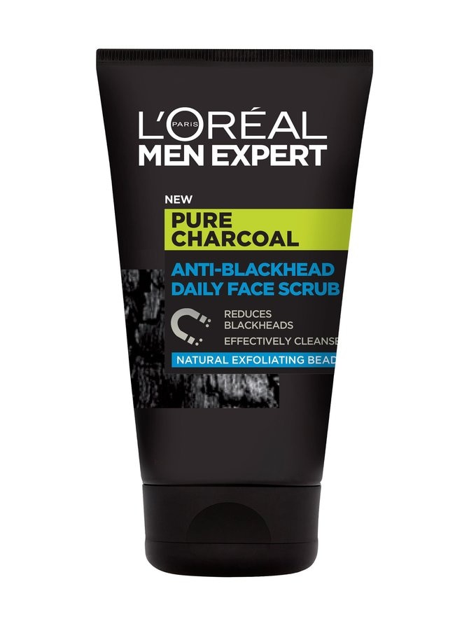 Men Expert Anti-Blackhead Daily Face Scrub -kuorintavoide 100 ml