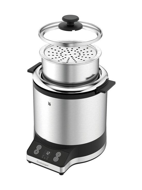 WMF - KitchenMinis® Rice Cooker With To-Go Lunch Box -riisinkeitin - CROMARGAN STEEL   Stockmann - photo 2