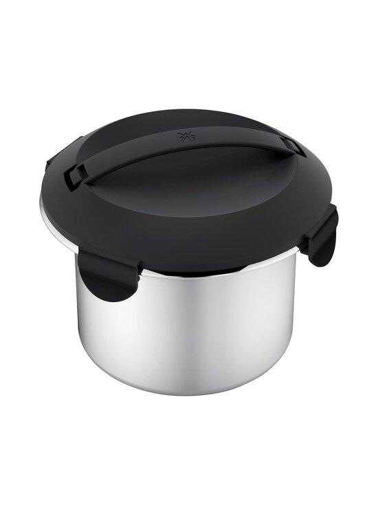 WMF - KitchenMinis® Rice Cooker With To-Go Lunch Box -riisinkeitin - CROMARGAN STEEL   Stockmann - photo 3