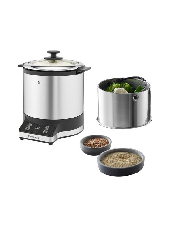 WMF - KitchenMinis® Rice Cooker With To-Go Lunch Box -riisinkeitin - CROMARGAN STEEL   Stockmann - photo 6