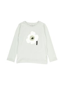 Marimekko - Ouli Unikko Placement shirt -paita - 661 LIGHT BLUE, OFF WHITE, L.GREEN | Stockmann