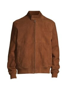 Cap Horn - Marcus Suede Harrington Jacket -mokkanahkatakki - TOBACCO BROWN SUEDE | Stockmann