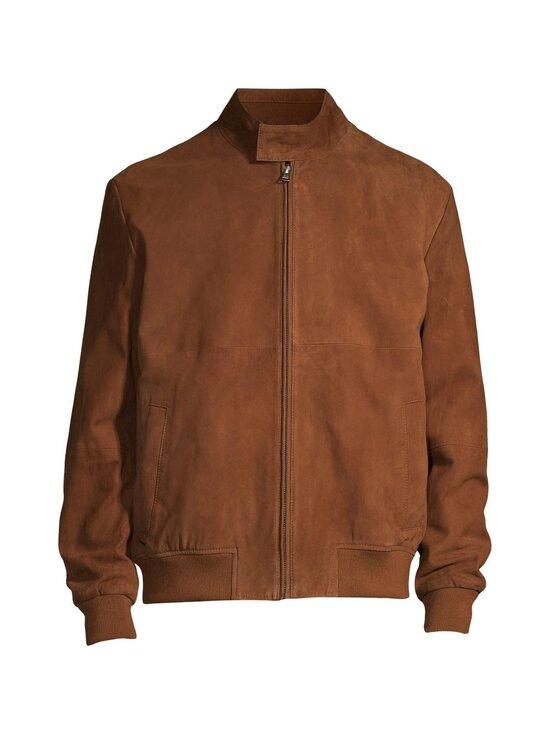 Cap Horn - Marcus Suede Harrington Jacket -mokkanahkatakki - TOBACCO BROWN SUEDE | Stockmann - photo 1