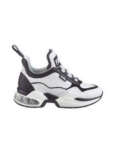 Karl Lagerfeld - Ventura Lazare Mid Top -sneakerit - 010 WHITE LTHR W/BLACK | Stockmann
