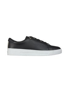 Ted Baker London - Merata Webbing Detail Leather Trainers -nahkatennarit - 00 BLACK | Stockmann