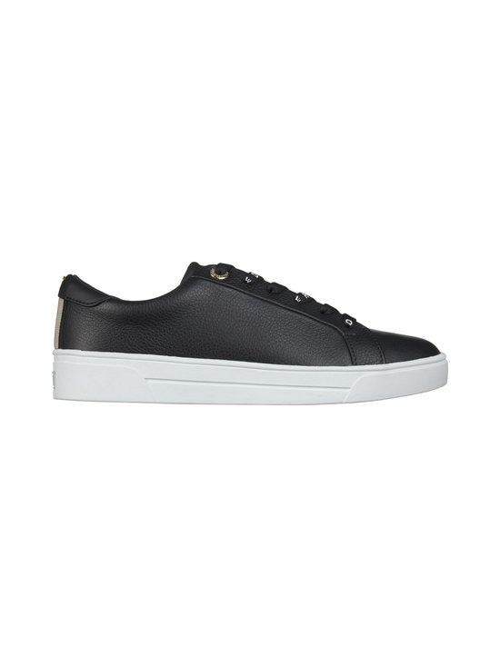 Ted Baker London - Merata Webbing Detail Leather Trainers -nahkatennarit - 00 BLACK | Stockmann - photo 1