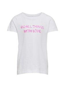 KIDS ONLY - KonChloe Life Boxy -paita - BRIGHT WHITE PRINT:LOVE | Stockmann