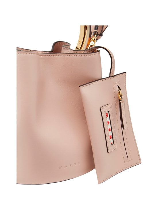 MARNI - Pannier Bag With Design Handle -nahkalaukku - 00C20 QUARTZ | Stockmann - photo 5