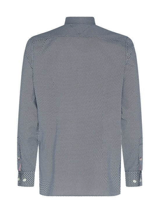 Tommy Hilfiger - Slim Flex Micro Geo Print Shirt -kauluspaita - 0GY CARBON NAVY / ECRU | Stockmann - photo 2