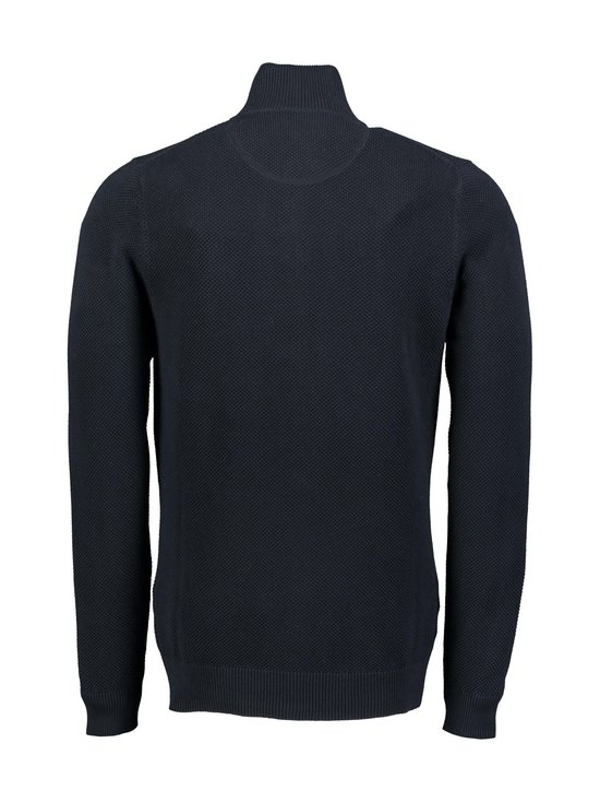 GANT - Cotton Pique Zip -neuletakki - 433 EVENING BLUE | Stockmann - photo 2