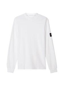 Calvin Klein Jeans - Waffle LS Tee -paita - YAF BRIGHT WHITE   Stockmann