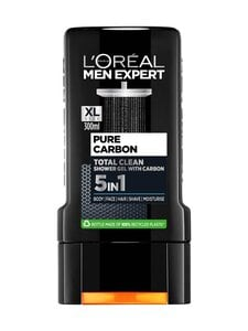 L'ORÉAL MEN EXPERT - Pure Carbon 5in1 Shower Gel -suihkugeeli 300 ml | Stockmann