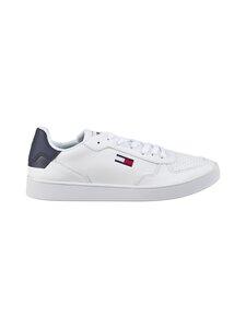 Tommy Hilfiger - Tommy Jeans Essential Cupsole -nahkatennarit - YBR WHITE | Stockmann