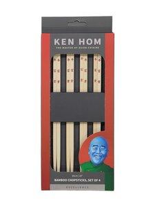 Ken Hom - Syömäpuikot 4 paria - BROWN | Stockmann