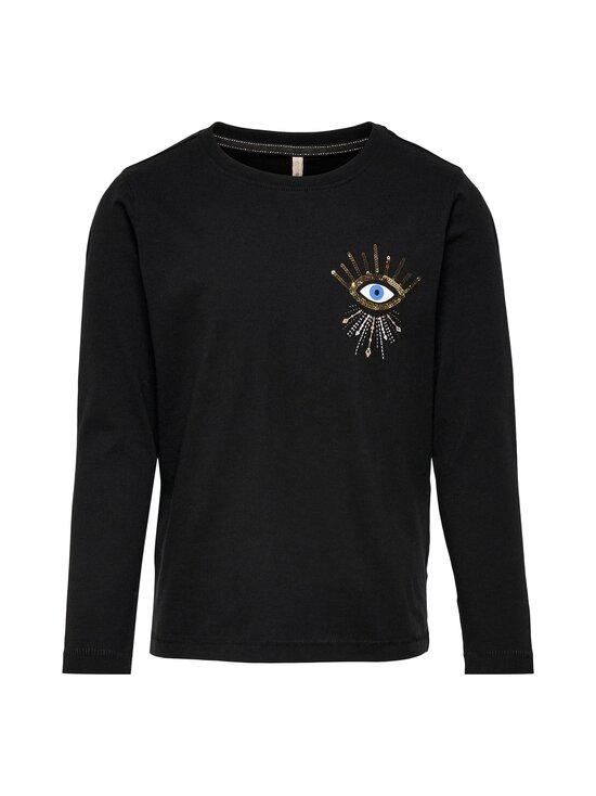 KIDS ONLY - KONKITA LIFE REG ASTROLOGY -pitkähihainen paita - BLACK PRINT:EYE CHEST | Stockmann - photo 1