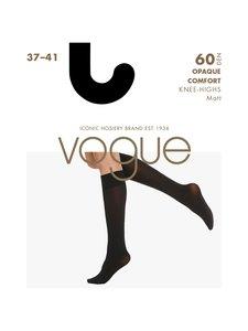 Vogue - Opaque Comfort 60 den 3D -polvisukat - MUSTA   Stockmann
