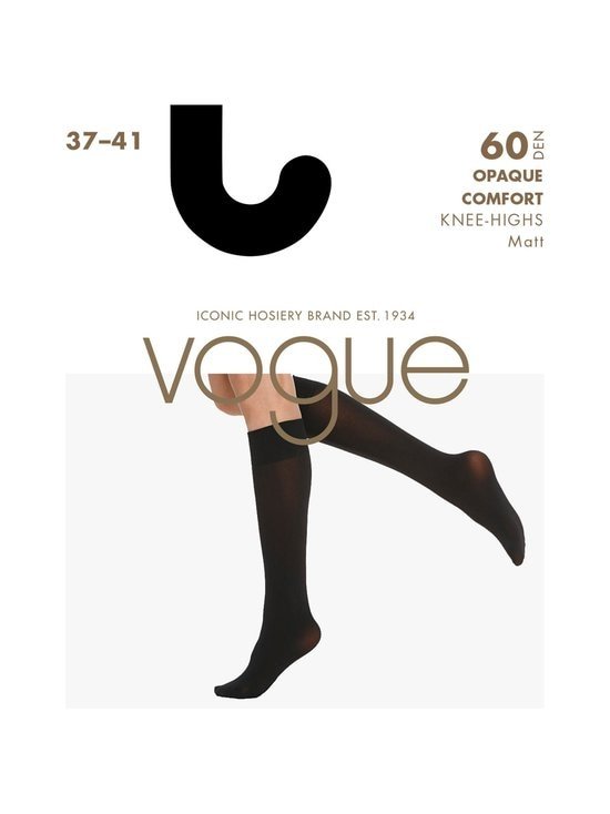 Vogue - Opaque Comfort 60 den 3D -polvisukat - MUSTA | Stockmann - photo 1