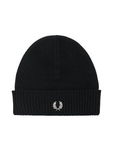 Fred Perry - Roll Up Beanie -pipo - 102 BLACK | Stockmann