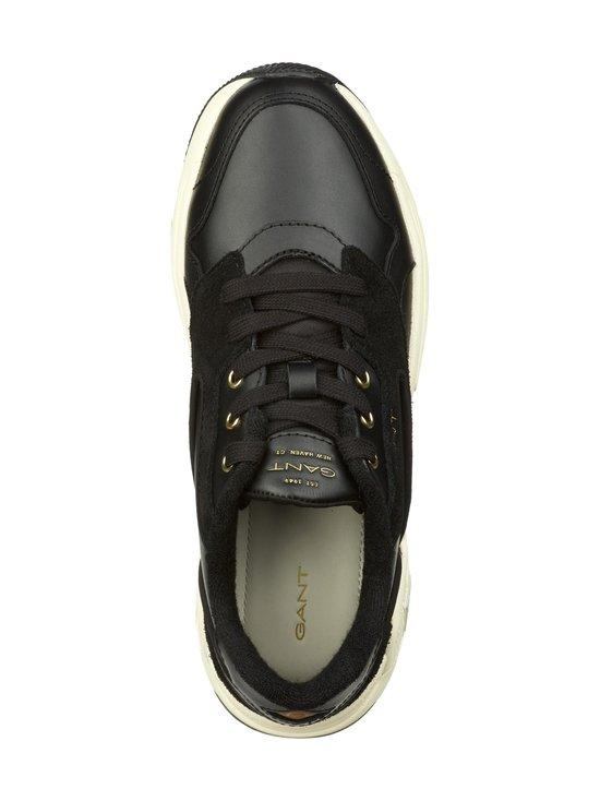 GANT - Nicewill-nahkasneakerit - G00 BLACK | Stockmann - photo 2
