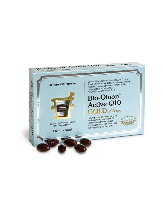Bio-Qinon Active Q10 Gold 100 mg 60 kaps./60 g