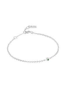 Efva Attling - Micro Blink Bracelet -rannekoru - SILVER & EMERALD   Stockmann