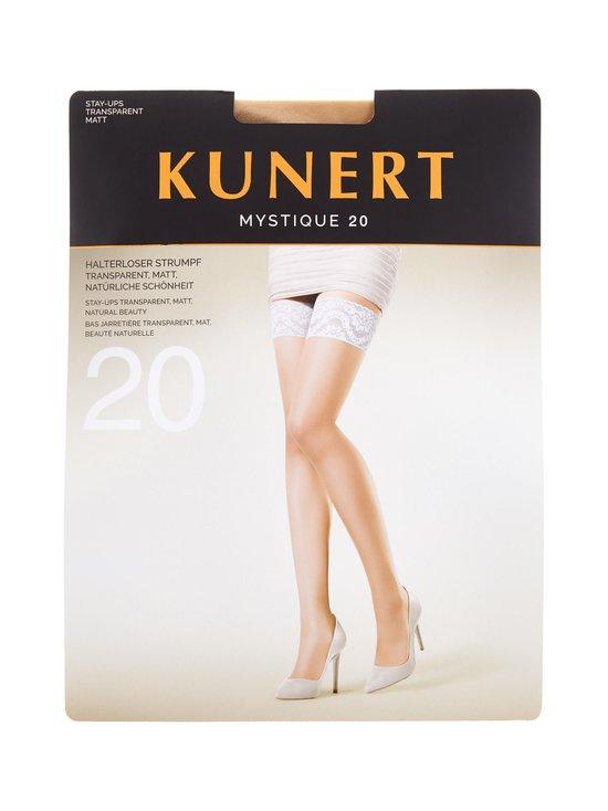 Kunert - Mystique-stay-up-sukat 20 den - CASHMERE BLACK | Stockmann - photo 1