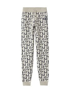 Kenzo - Monogram Jogpants -housut - 95 DOVE GREY | Stockmann