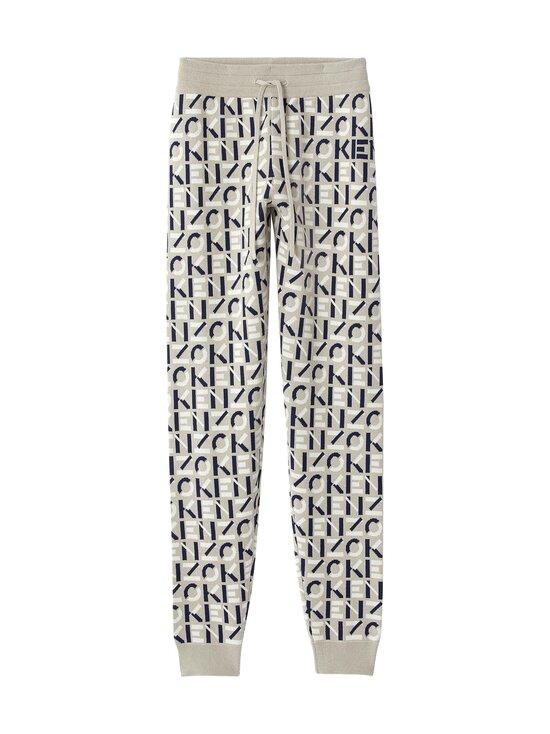 Kenzo - Monogram Jogpants -housut - 95 DOVE GREY | Stockmann - photo 1