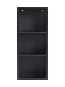 Muubs - Cabinet Atlanta S -kaappi - BLACK/SMOKED GLASS | Stockmann